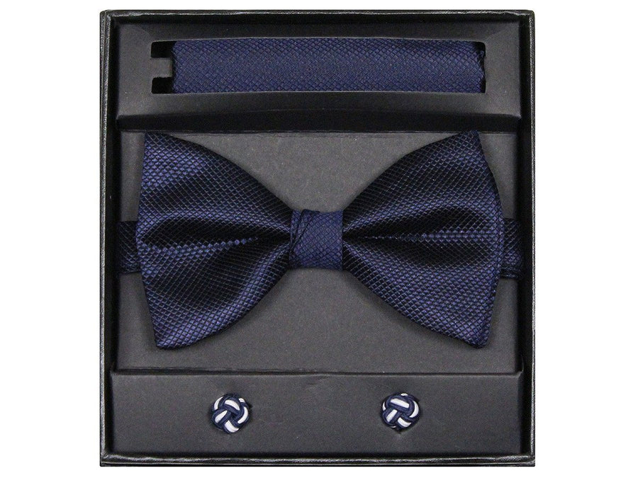 Boy's Bow Tie Box Set 21942 Navy Boys Bow Tie Giorgio Bissoni
