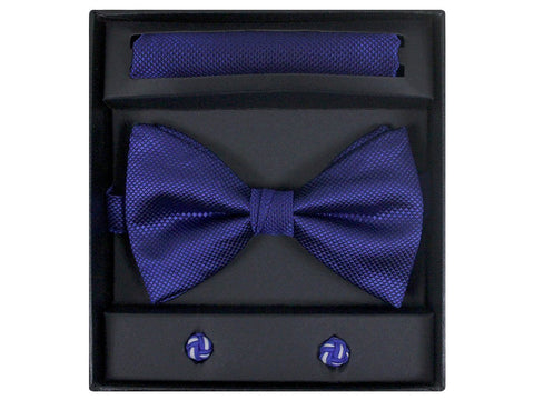 Boy's Bow Tie Box Set 21943 Royal Boys Bow Tie Giorgio Bissoni