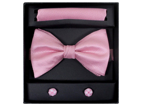 Boy's Bow Tie Box Set 21945 Pink Boys Bow Tie Giorgio Bissoni