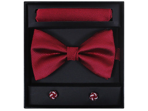 Boy's Bow Tie Box Set 21946 Red Boys Bow Tie Giorgio Bissoni