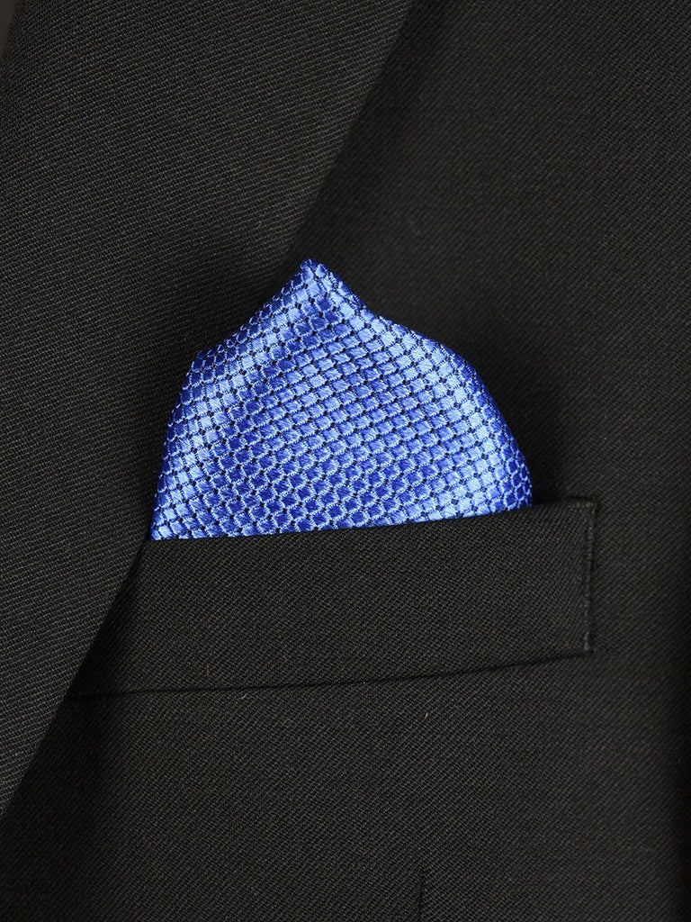 Boy's Pocket Square 22028 Blue Boys Pocket Square Heritage House