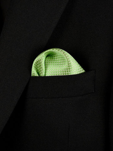 Boy's Pocket Square 22029 Green Boys Pocket Square Heritage House