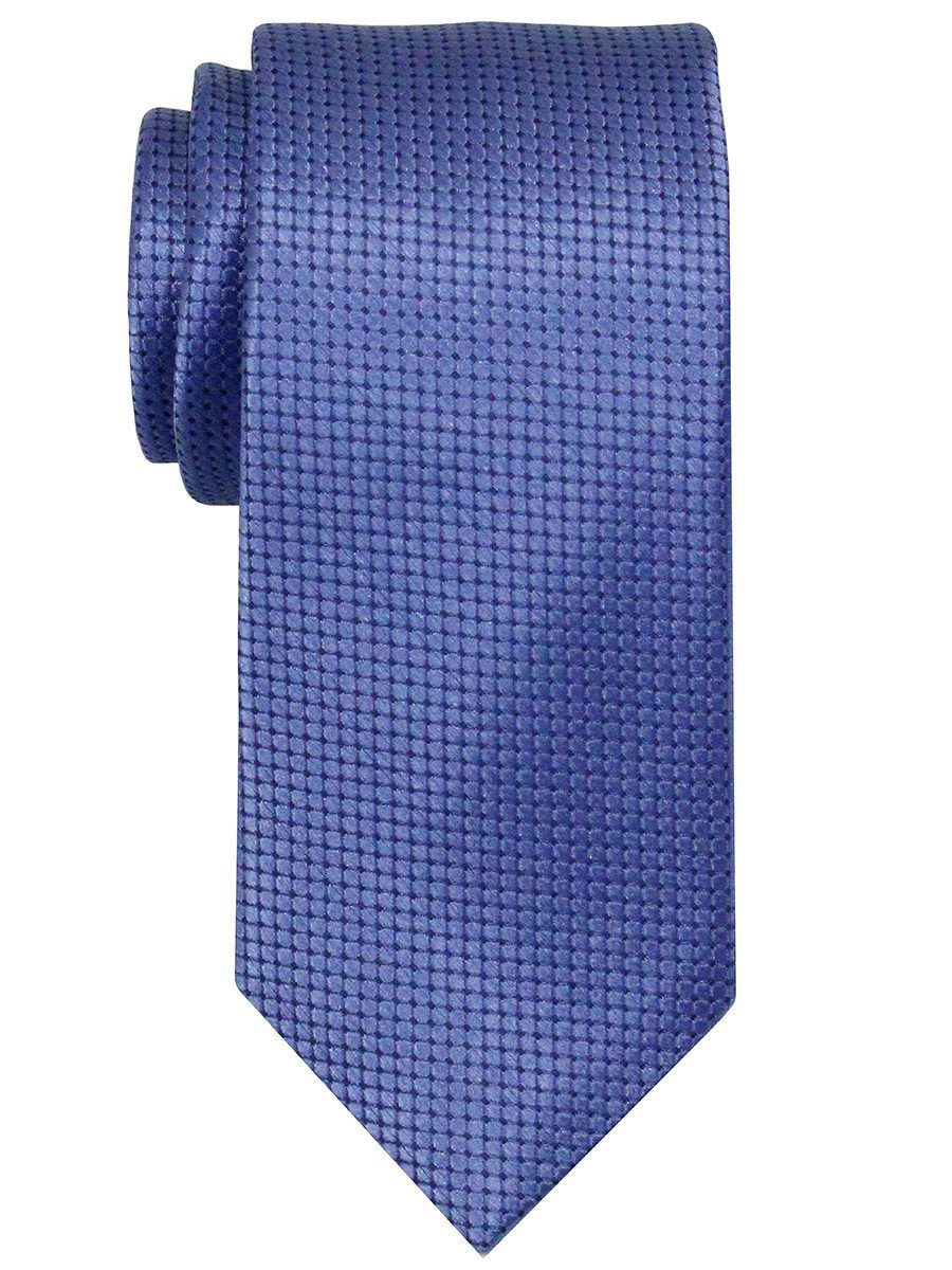 Heritage House 22030 100% Woven Silk Boy's Tie - Neat - Blue