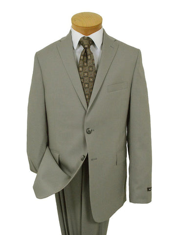 Michael Kors 22039 100% Wool Boy's Suit - Solid - Khaki Boys Suit Michael Kors