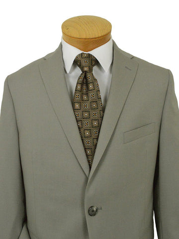 Michael Kors 22039 100% Wool Boy's Suit - Solid - Khaki