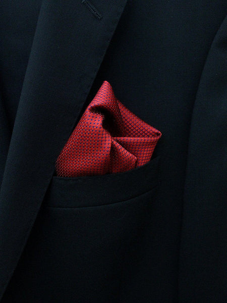 Boy's Pocket Square 22253 Red