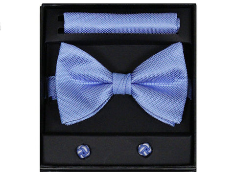 Boy's Bow Tie Box Set 22260 Sky Blue Boys Bow Tie Giorgio Bissoni