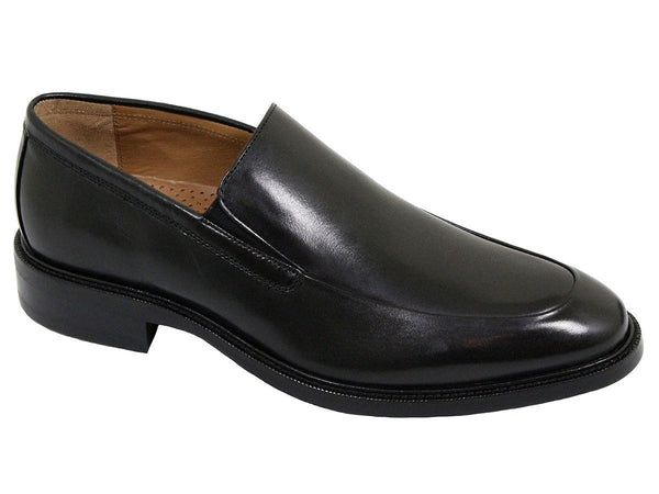 Cole Haan 22344 100% Leather Boy's Shoe -Slip On - Moc Toe - Black