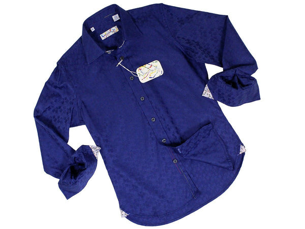 Boy's Sport Shirt 22594 Navy