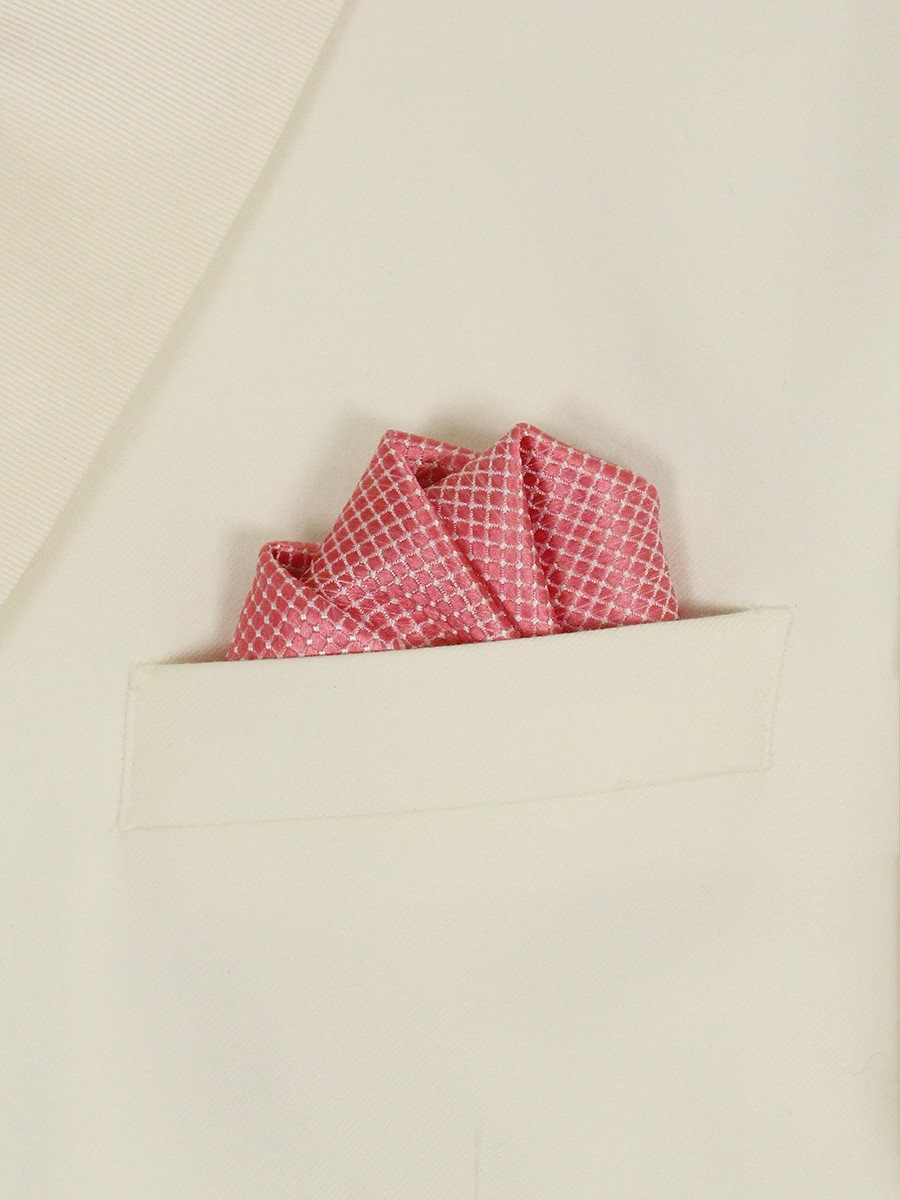 Boy's Pocket Square 22727 Pink Boys Pocket Square Heritage House