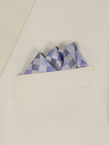 Boy's Pocket Square 22728 Blue Boys Pocket Square Heritage House