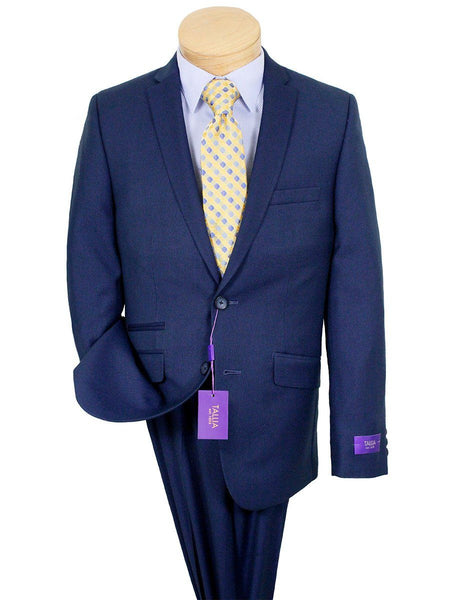 Tallia 22803 85% Polyester/15% Rayon Boy's Suit - Weave - Navy