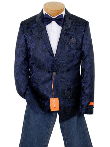 Image of Tallia Boy's Sport Coat 22882 Navy Boys Sport Coat Tallia