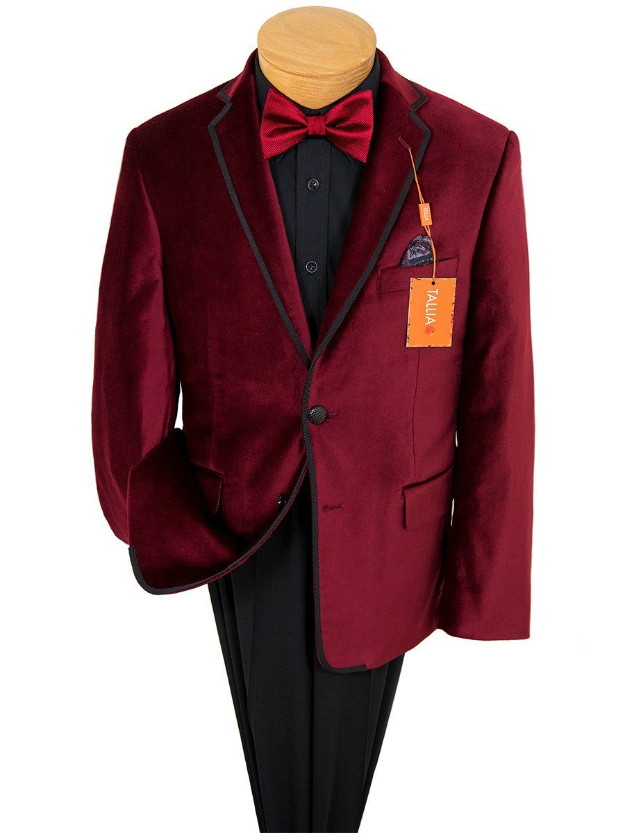 Boy's Sport Coat 22889 Red Boys Sport Coat Tallia