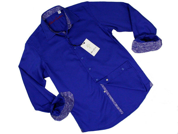Boy's Sport Shirt 22936 Royal