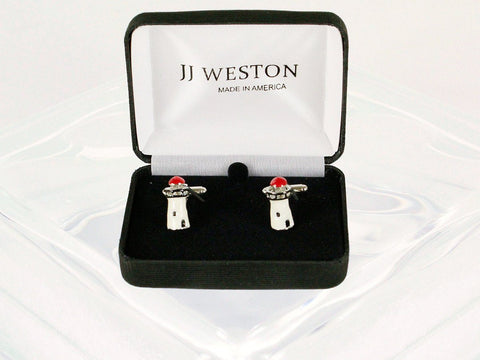 Boy's Cuff Links 22951 White Boys Cufflinks JJ Weston
