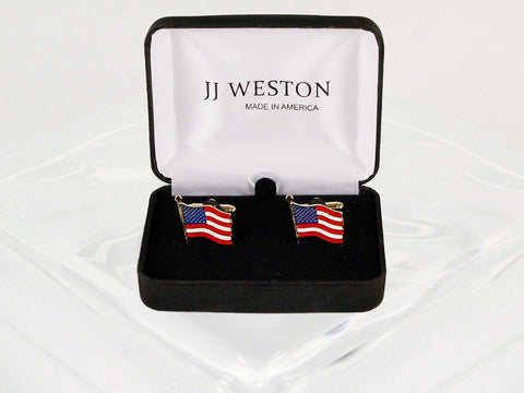 Boy's Cuff Links 22952 Gold Boys Cufflinks JJ Weston