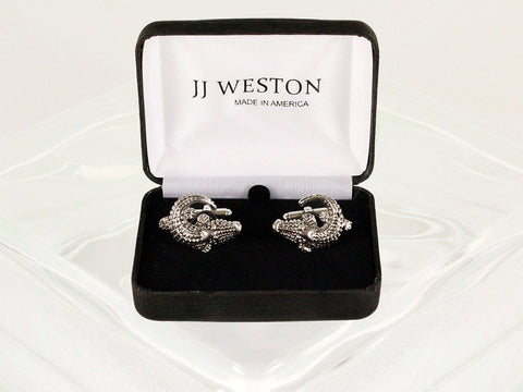 Boy's Cuff Links 22954 Silver Boys Cufflinks JJ Weston