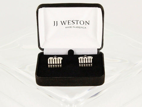 Boy's Cuff Links 22956 Silver Boys Cufflinks JJ Weston