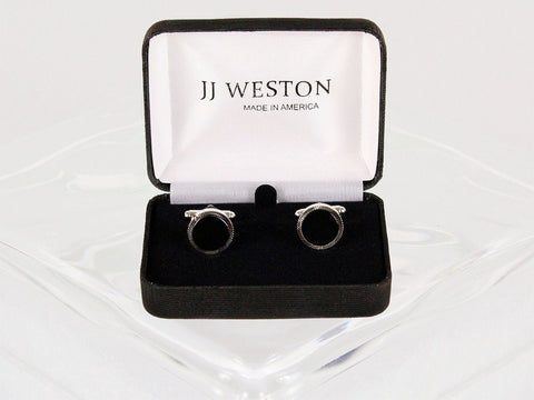 Boy's Cuff Links 22958 Silver Boys Cufflinks JJ Weston