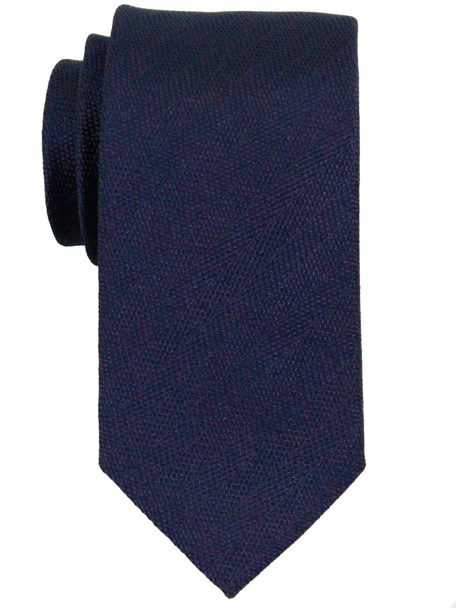 Heritage House 23055 100% Woven Silk Boy's Tie - Neat - Navy Boys Tie Heritage House