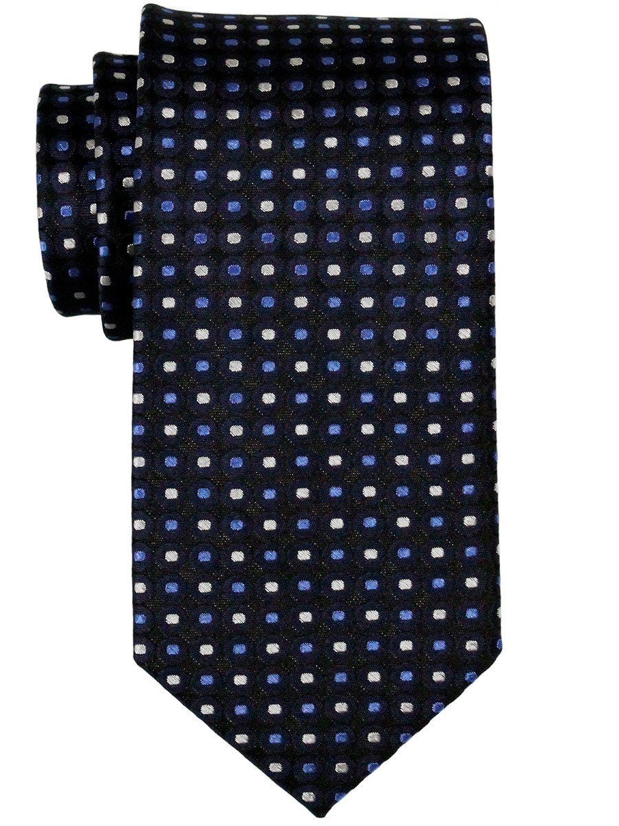 Boy's Tie 23085 Black/Blue/Silver Boys Tie Heritage House