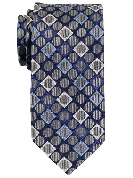 Boy's Tie 23119 Grey/Blue