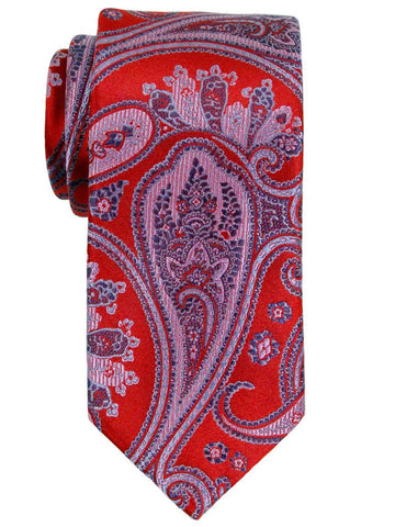 Heritage House 23145 100% Silk Boy's Tie - Paisley - Red / Blue Boys Tie Heritage House
