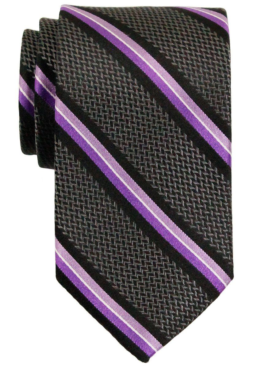 Boy's Tie 23159 Grey/Purple