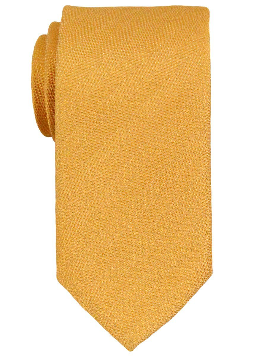Heritage House 23277 100% Woven Silk Boy's Tie - Solid - Yellow