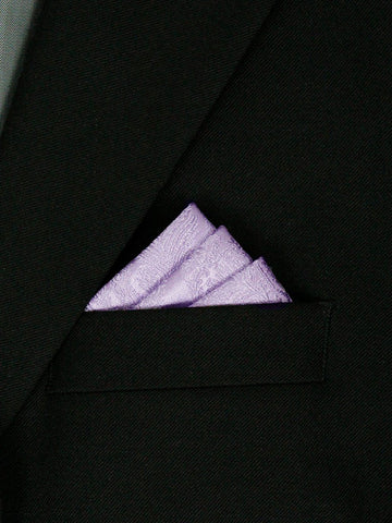Boy's Pocket Square 23488 Lilac Boys Pocket Square Heritage House