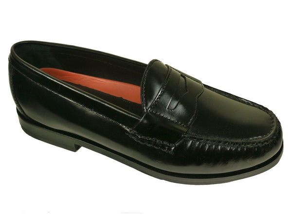 Cole Haan 23495 Leather Boy's Shoe - Penny Loafer - Black