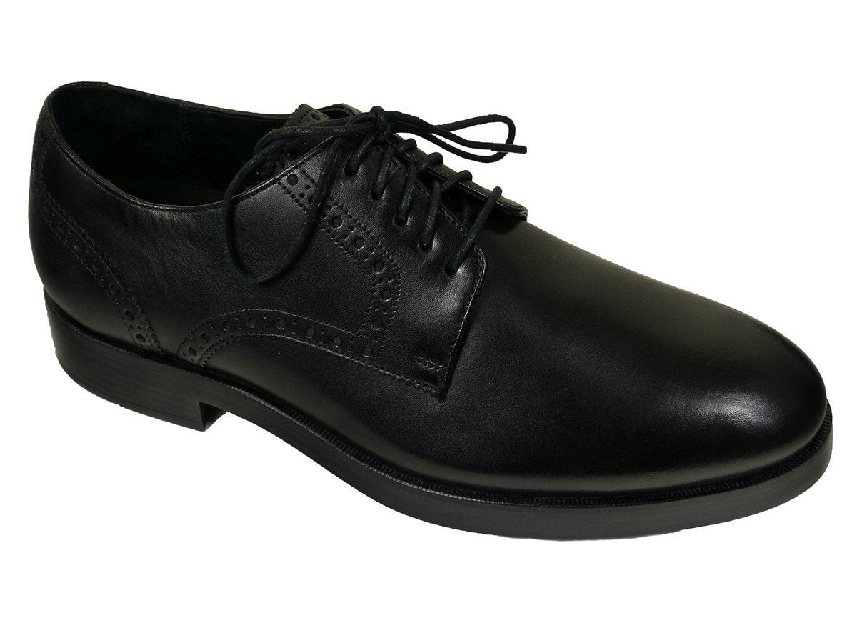Cole Haan 23528 Leather Boy's Shoe - Derby Finish - Black