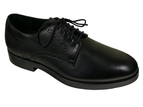 Cole Haan 23528 Leather Boy's Shoe - Derby Finish - Black Boys Shoes Cole Haan