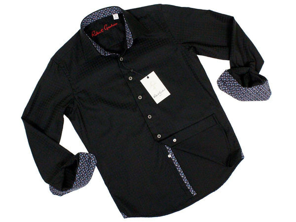 Boy's Sport Shirt 23627 Black