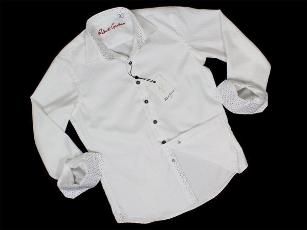 Boy's Sport Shirt 23632 White