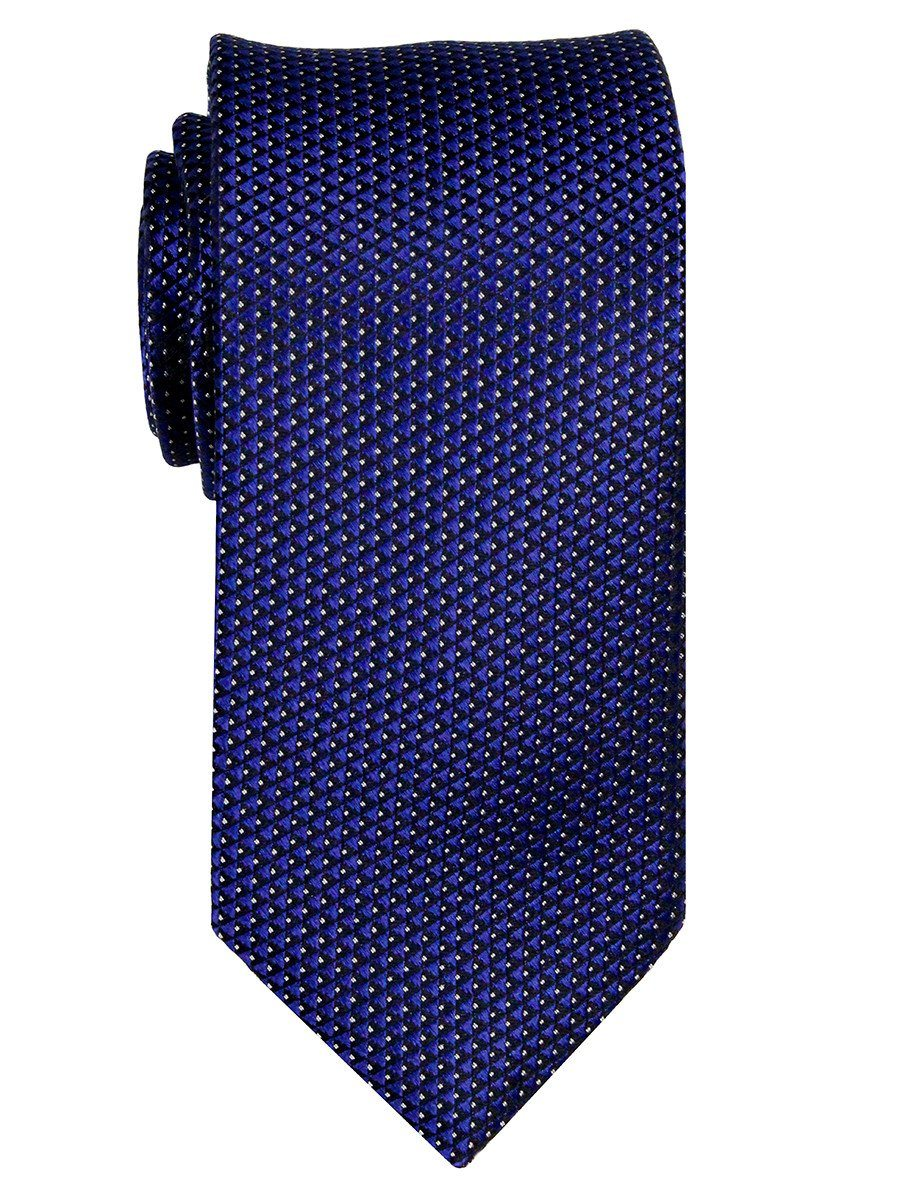 Boy's Tie 23721 Royal Blue/Black