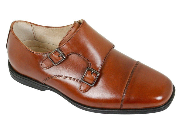 Boy's Dress Shoe 23902 Cognac