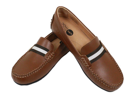 Umi 23948 Leather Boy's Shoe - Driving Loafer Boys Shoes Umi