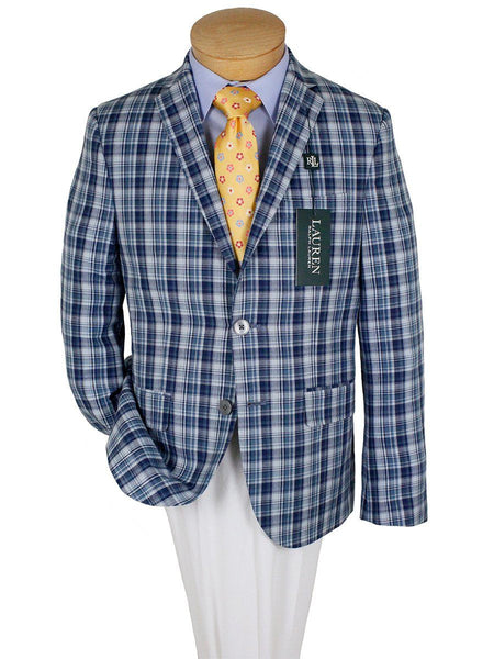 Boy's Sport Coat 24024 Navy/Blue