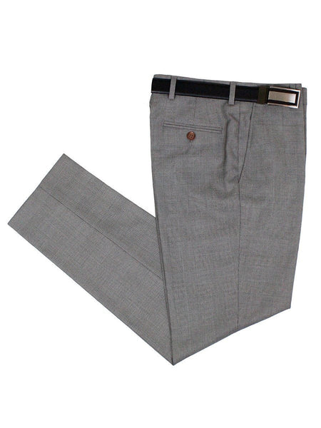 Lauren Ralph Lauren 24063P 65% Polyester/35% Rayon Boy's Suit Separate Pants - Plaid - Light Gray