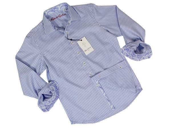 Boy's Sport Shirt 24089 Blue