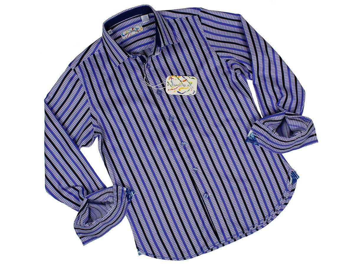 Boy's Sport Shirt 24182 Navy