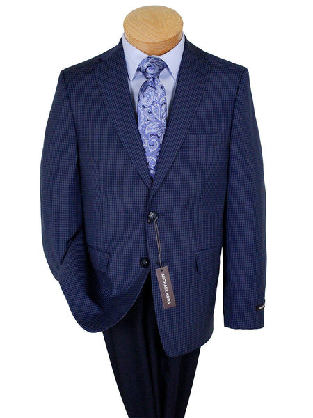 Michael Kors 24292 100% Wool Boy's Sport Coat - Check - Navy