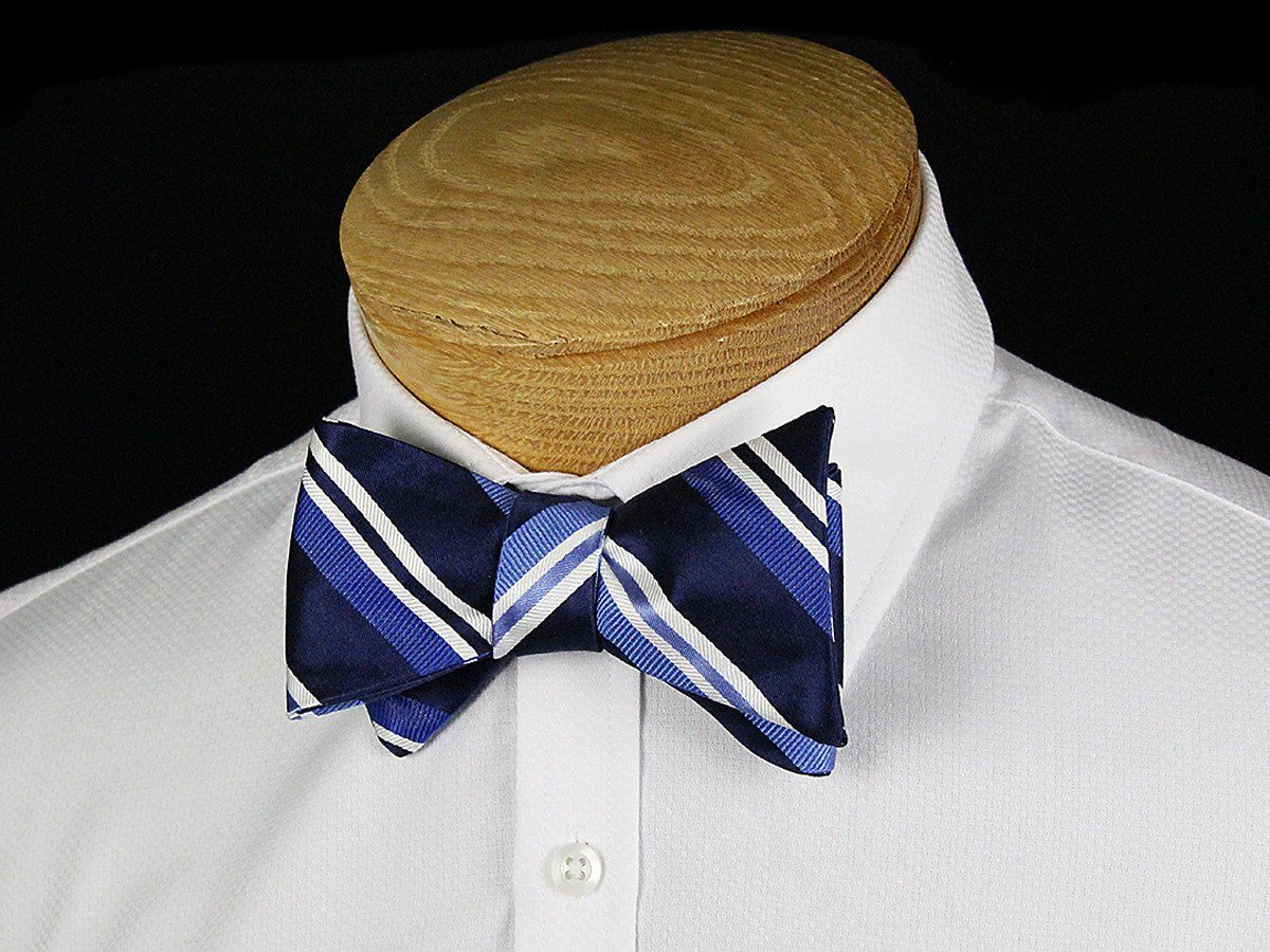 Boy's Bow Tie 24446 Navy/Blue