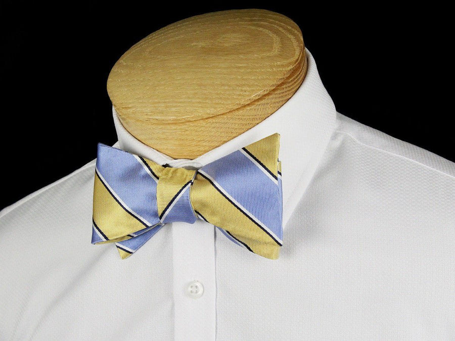 Boy's Bow Tie 24450 Blue/Yellow Boys Bow Tie Heritage House