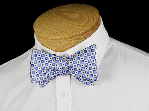 Boy's Bow Tie 24452 Blue/White Boys Bow Tie Heritage House