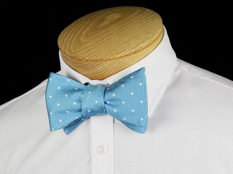 Boy's Bow Tie 24457 Teal/White Boys Bow Tie Heritage House