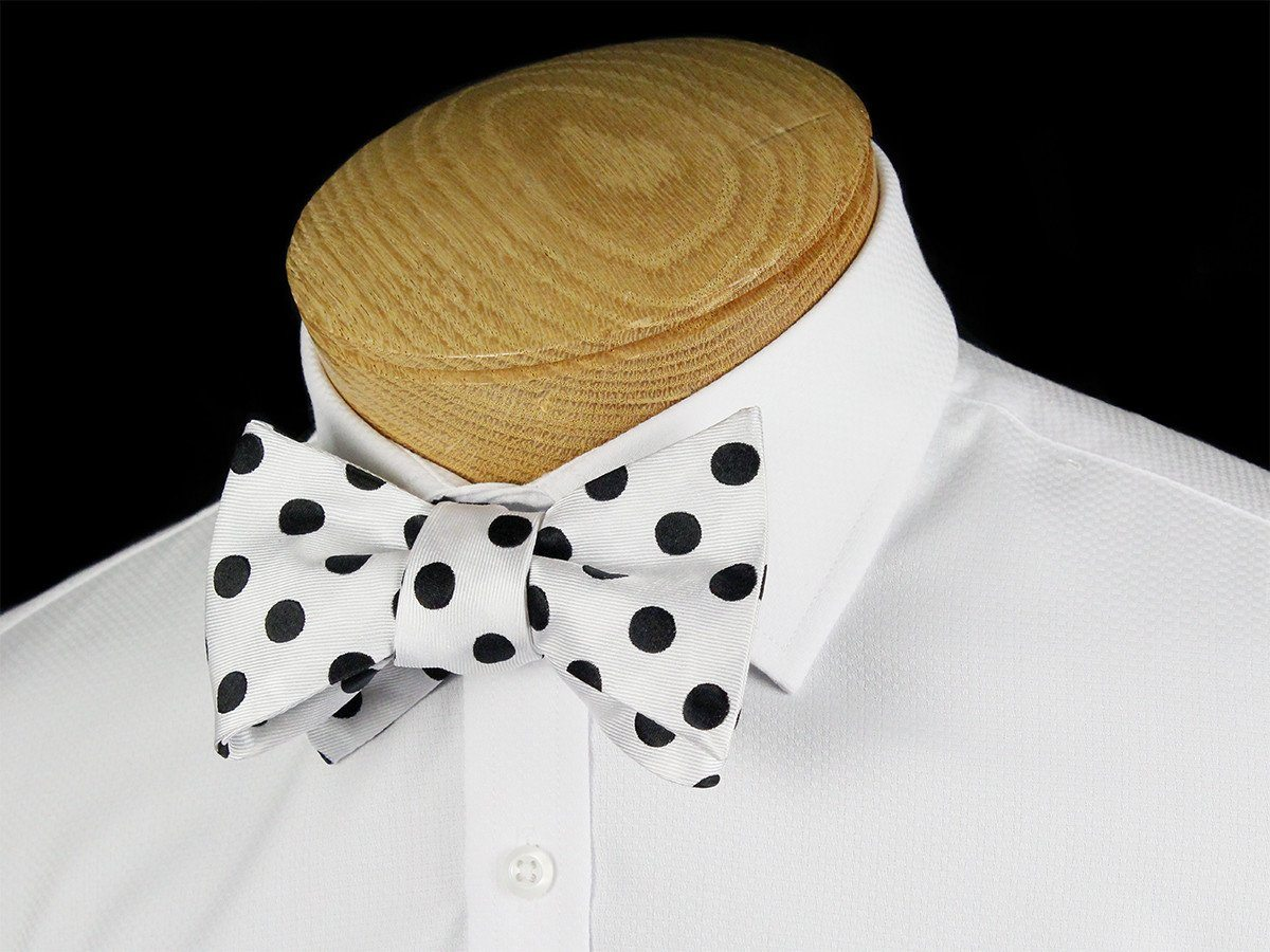 Boy's Bow Tie 24459 White/Black