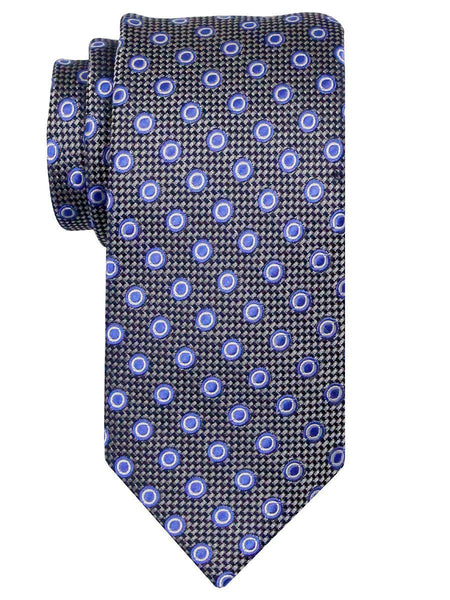 Heritage House 24480 100% Silk Boy's Tie - Neat - Gray